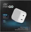 Cóc sạc nhanh INNOSTYLE USB-C PD 18W MINIGO (BH 2 năm)